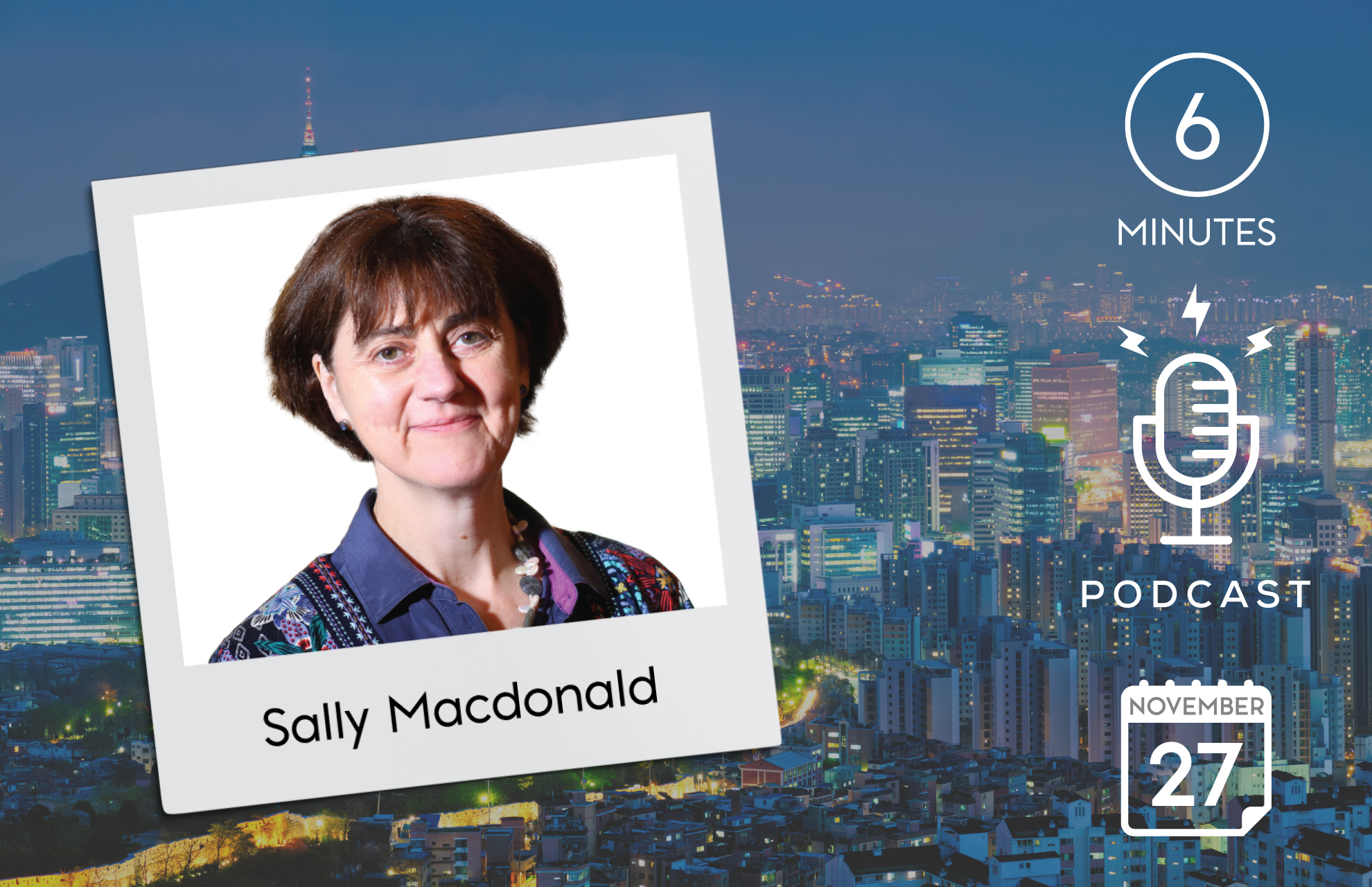 Sally Macdonald podcast